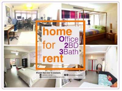 Stylish Home Office, 3 BD, 3Bath
