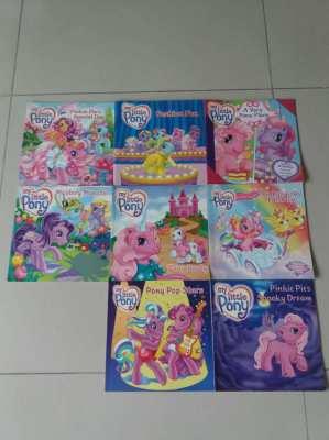 8 - MY LITTLE PONY KIDS BOOKS