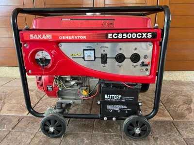 Sakari gasoline generator. Like new. Brand new battery.