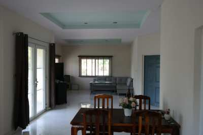 Modern Bungalow in CHA-AM at the Gulf of Thailand nearby Hua-Hin