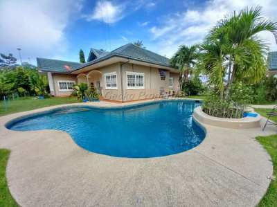 The popular house at  Mabprachan Lake area of East Pattaya for sale.