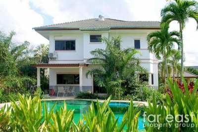 Baan Dusit Pattaya Pool Villa - 1,456 sqm. Plot!