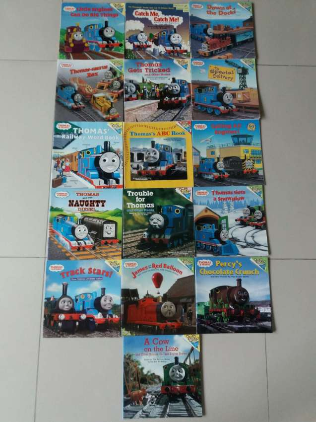 16 FAMOUS THOMAS AND FRIENDS CHILDREN'S BOOKS
