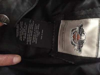 Original Harley Davidson leather jacket (women)