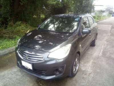 Mitsubishi Attrage 1.2l for rent Hua Hin