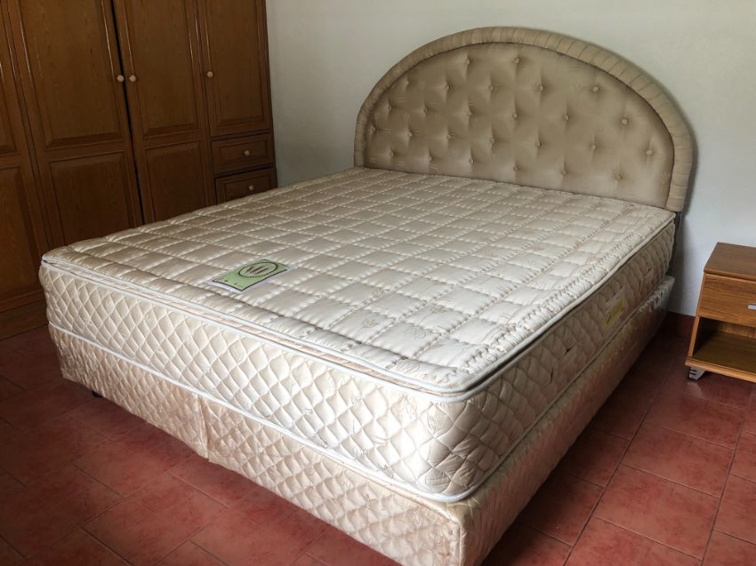 Bed 1,85m x 2,00m king size bed 6 feet bed