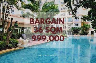 Bargain Pool View 999K 1 Bedroom