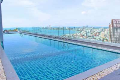 1 Bed Condo for Rent in Pratumnak only 12,000 baht!