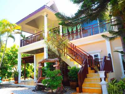 5 Bed detached house 5 min from beach Pran Buri and 2 min Kai Tao beac