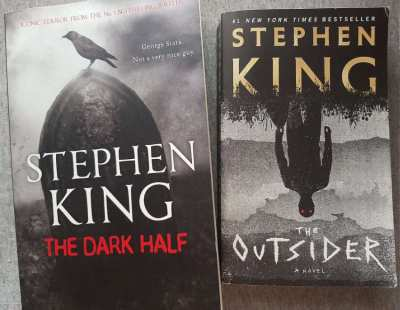 Stephen King - The Dark Half / The Outsider - Almost As New