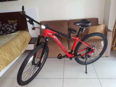 brand new never ridden bike