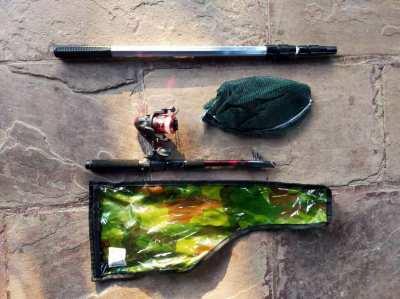 Telescopic Fishing Rod & Net Set