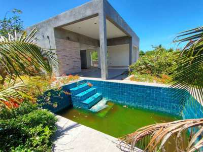 Nice Square Shaped 1-2-0 Plot - Unfinished Pool Bungalow and Big Sala