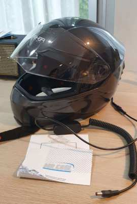 Mr Cool helmet with air conditioning