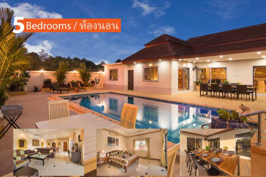 During the Covid our Villas in pattaya on weekly, monthly rent