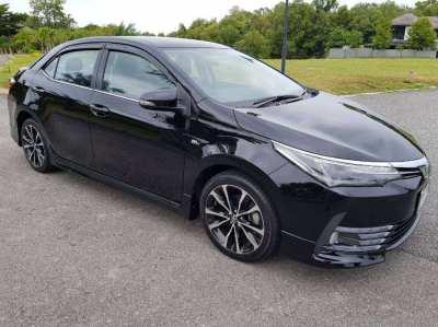 Good as new Toyota Corolla Altis 1.8S ESport 2019 Sedan