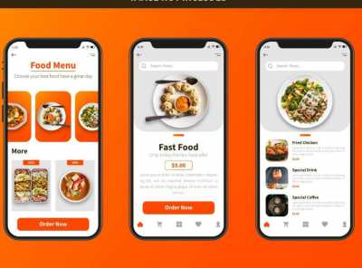 Food ordering native Mobile App