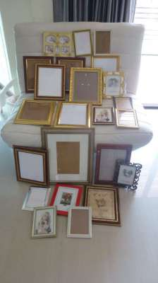 Selection of 26 Picture Frames for sale