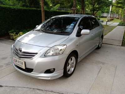 Vios2010 90K real mileage guarantee, 0THB first payment/install 4,986