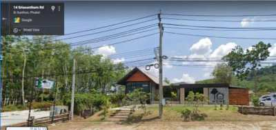 Commercial property for rent on busy road in Phuket
