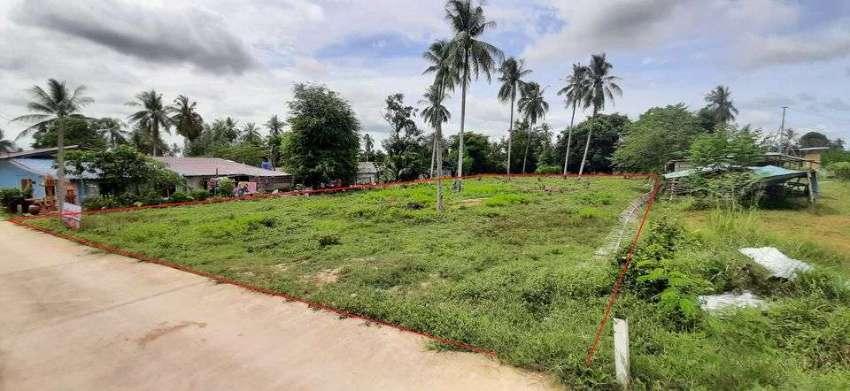 residence & pool villas plot for sale
