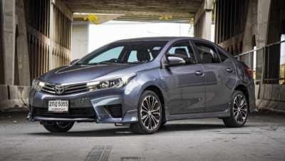 Toyota Altis 1.8 S Sport ปี2014