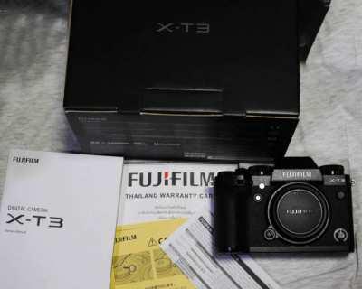 New Fuji Fujifilm X-T3 26.1MP Weather Resistant Wi-Fi Camera Black