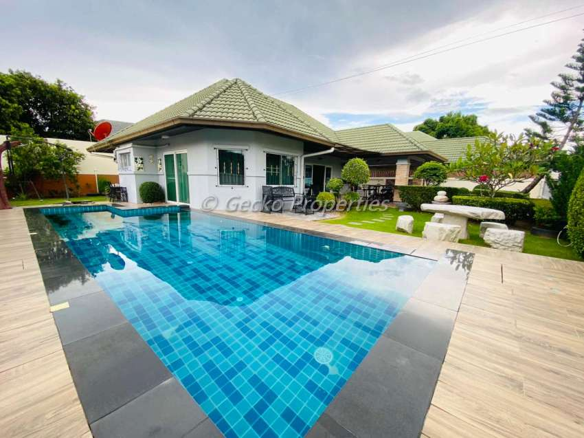 3 bed 3 bath House with private pool for sale in secure village