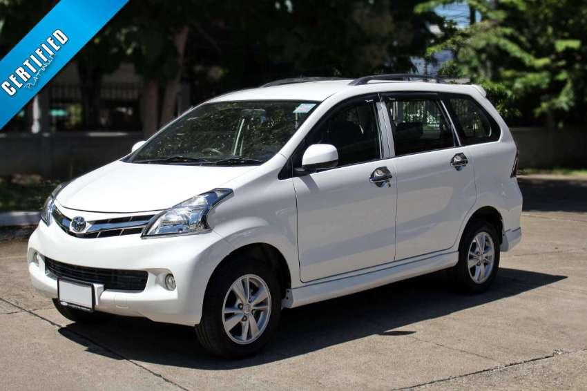 2014 (mfd '14) Toyota Avanza 1.5 E M/T