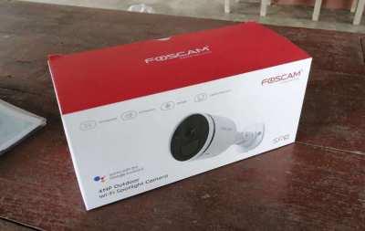 Foscam SPC Spotlight WiFi camera with human detection
