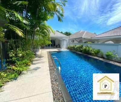 Beautiful 2 bedroom pool villa in Bang Saray Pattaya City