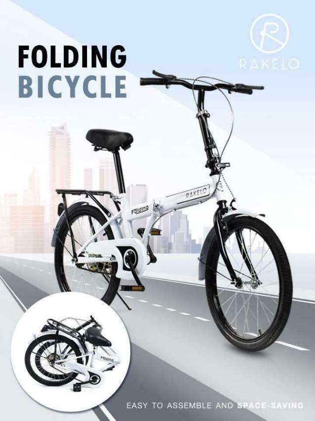 Foldable Bicycle With Free Hand-Pump
