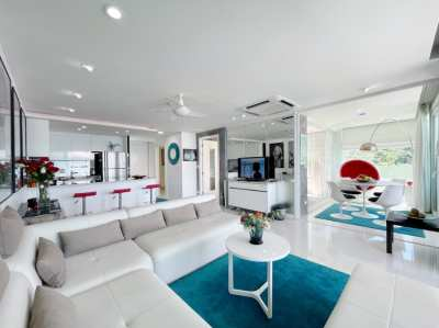 Patong-Kalim Modern Sea View Apartment for Sale and Rent.