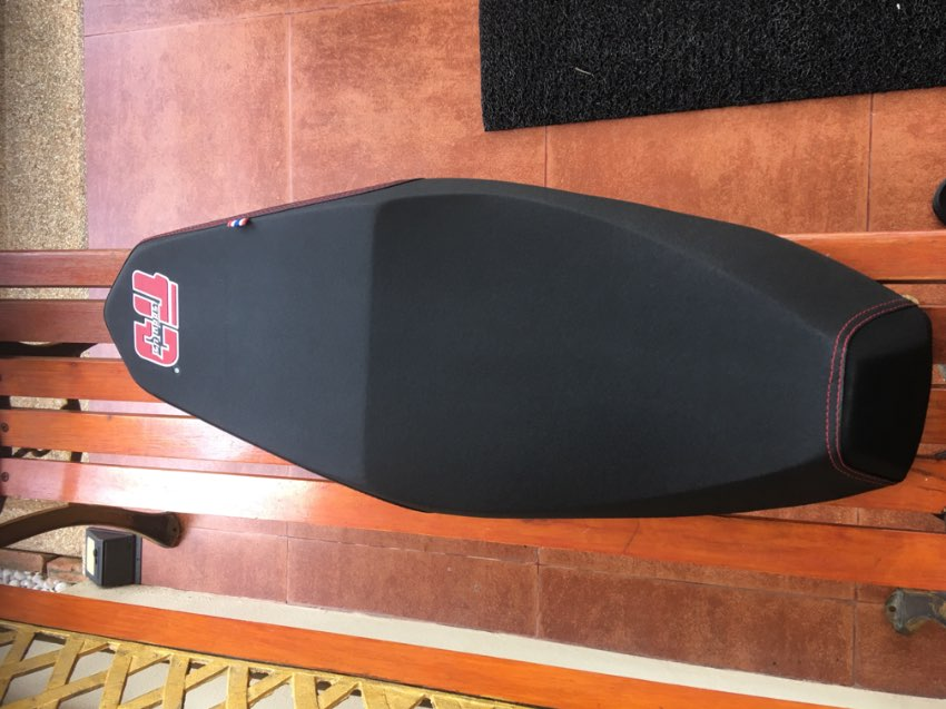 new, PCX saddle, I have been used