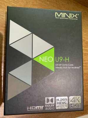 MINIX U9-H Media Hub - Internet TV box + NEO 3A Remote - all unused.