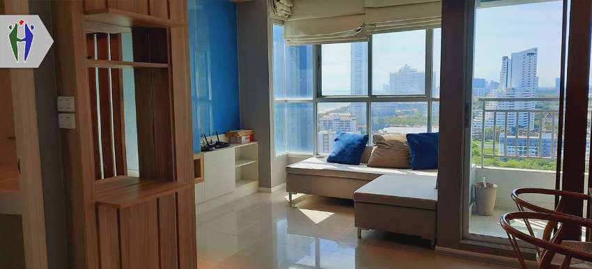 Condo Lumpini for Rent 10,000 baht, Next to Beach With Sea View.
