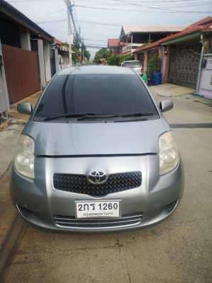 Toyota yaris E xu2006 เจ้าของมือเดียว