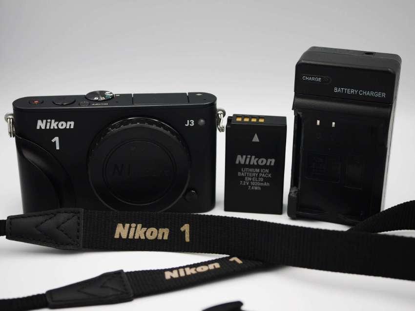 Nikon 1 J3 Digital Camera Black Body ตัวกล้อง