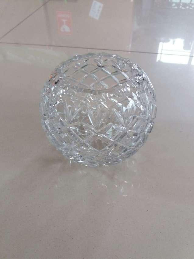 Handmade - Crystal Rose Bowl