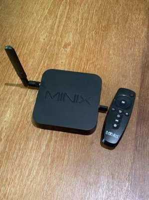 Internet TV box MINIX U9-H Media Hub + NEO 3A Remote - all unused.