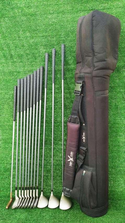 Golf clubs, left hand set of Hawaiian Open