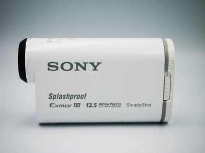 SONY HDR-AS100V POV Action Cam, 13.5MP GPS, Wi-Fi, NFC, SplashProof