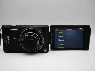 Nikon Coolpix S6900  Wi-Fi, NFC 12x Optical Zoom Digital Camera Black