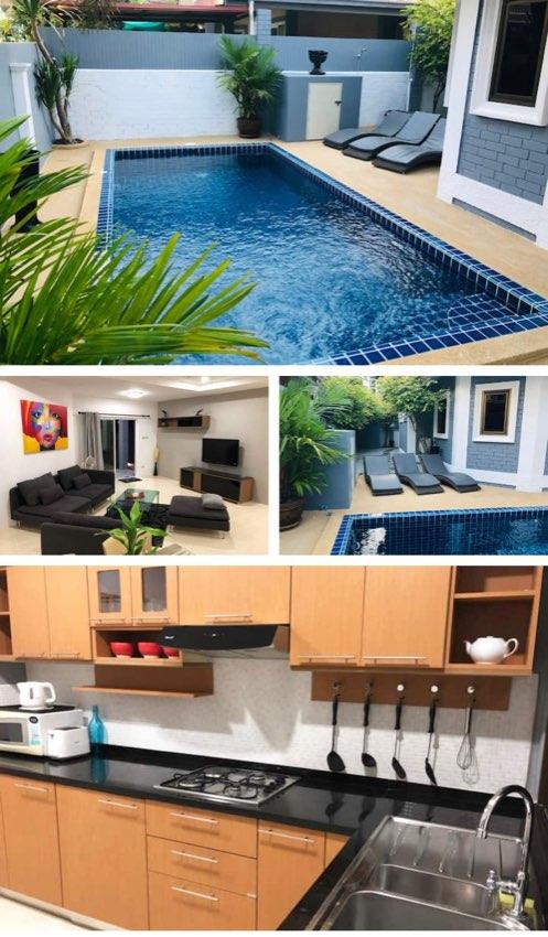 3 Bed Pool Villa For Rent 30K