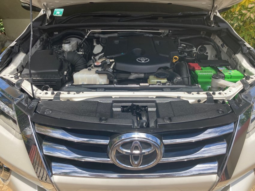 Fortuner excellent condition low usage