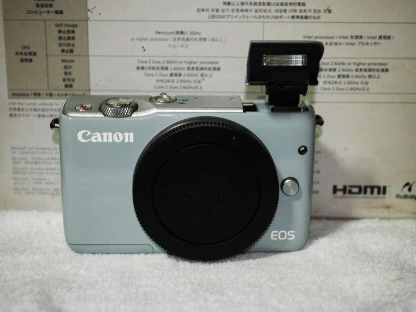 Canon EOS M10 Mirrorless Wi-Fi NFC Camera Grey Body