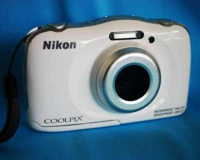 Nikon Coolpix W100 Water, Shock, Freeze and Dustproof  Wi-Fi, NFC, BT