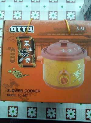 Otto slow cooker 3, 5 L