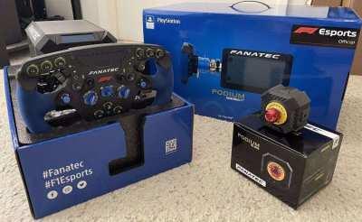 Fanatec F1 Podium Racing PS4 PS5 PC DD1 Direct Drive Wheelbase