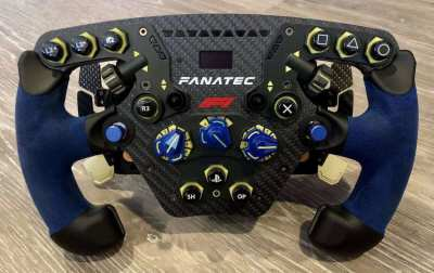 Fanatec F1 2020 Clubsport Steering Racing Wheel - PC, PS4 And PS5